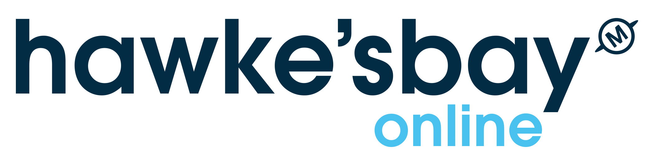 Hawke's Bay Online Logo