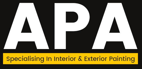 APA Specialising In Interior & Exterior Painting Logo