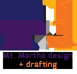 Mt. Martha Design & Drafting Logo