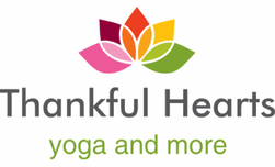Thankful Hearts Yoga Logo