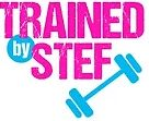 Trained By Stef Logo