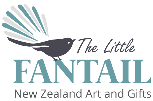 The 'Little Fantail' Gallery Logo
