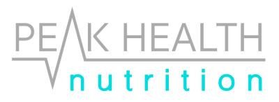 Peak Health Nutrition Logo