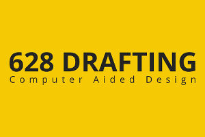 628 Drafting Logo