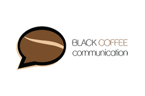 Black Coffee Communication Logo