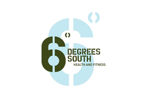6 Degrees South Health and Fitness Logo