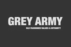 Grey Army Logo