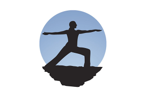 Yoga121 Sports Coach Logo