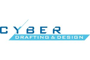 Cyber Drafting & Design Logo