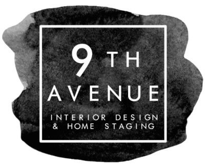 9th Avenue Interior Designs and Home Staging Logo