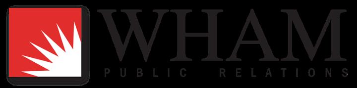 WHAM Public Relations Logo
