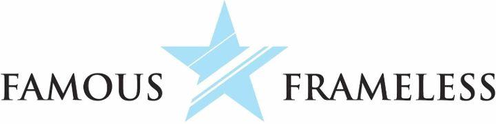 Famous Frameless Logo