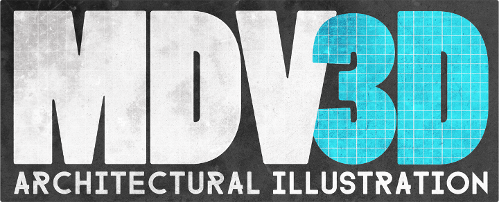 MDV3D Logo