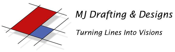 MJ Drafting & Designs Logo