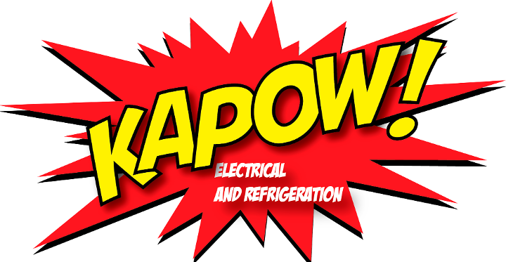 Kapow Electrical and Refrigeration Logo