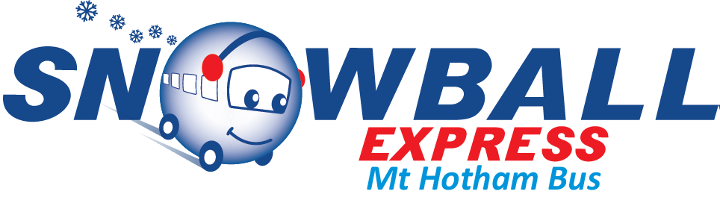 Snowball Express, Mt Hotham Bus Logo