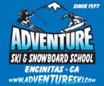 Adventure Ski & Snowboard School Logo